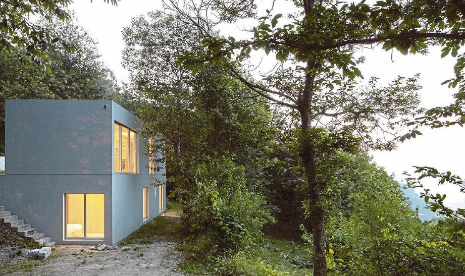 FORJA House binaan unik apabila sebahagiannya terbina di kawasan cerun. FOTO Arkib NSTP