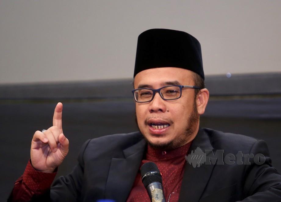 Dr Mohd Asri. FOTO Nur Adibah Ahmad Izam