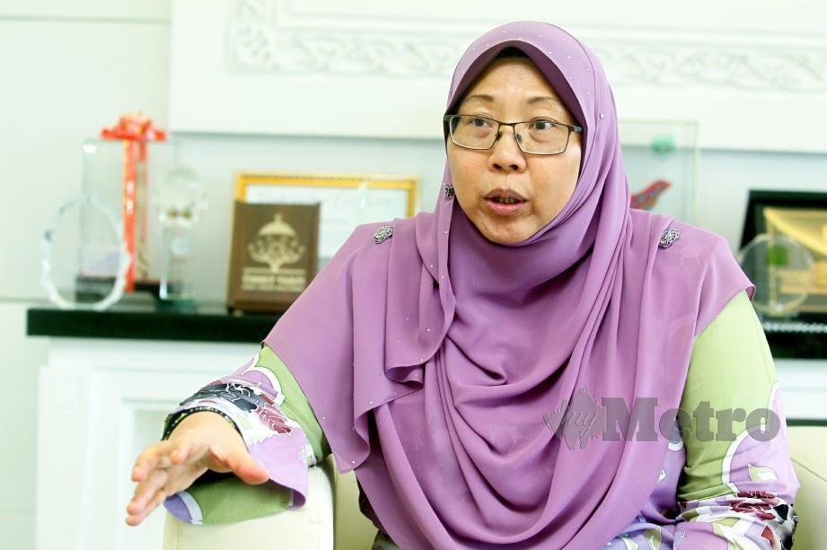 Ahli Parlimen Kuantan Fuziah Salleh