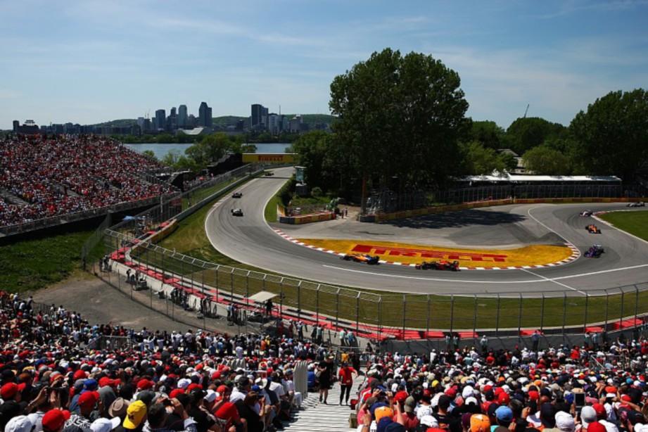 GRAND Prix Kanada terpaksa diubah tarikh perlumbaan akibat Covid-19. FOTO AGENSI
