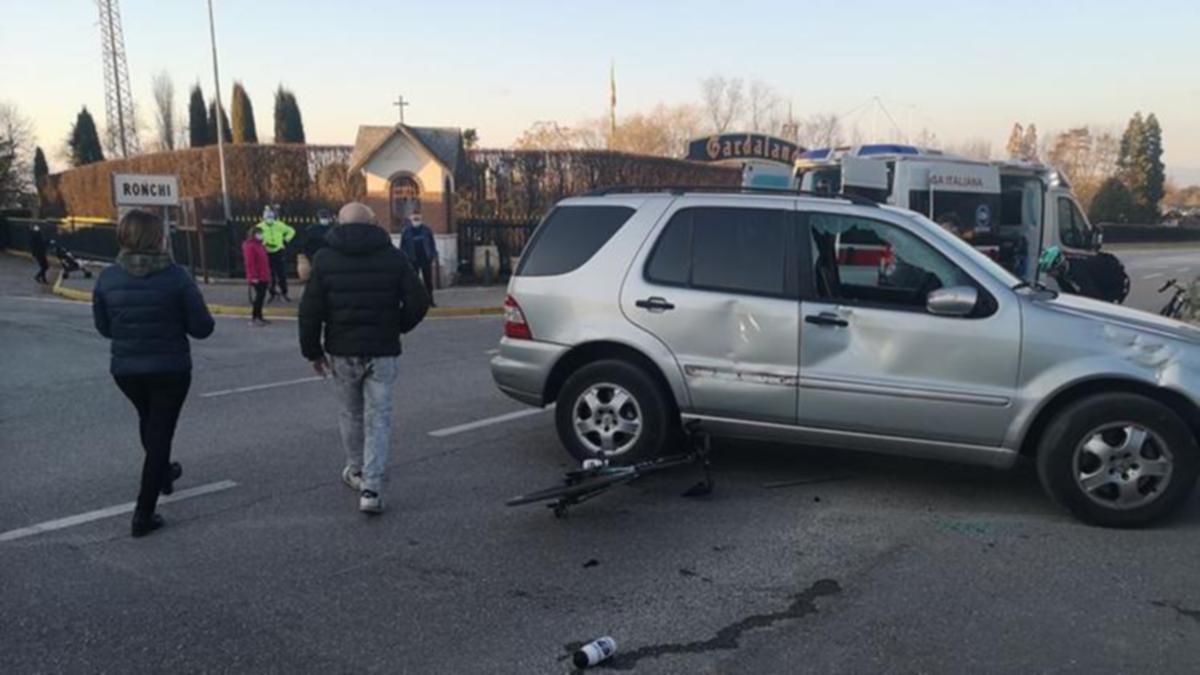 SELAIN dilanggar penunggang motosikal, pasukan berkenaan turut dirempuh sebuah kereta ketika berlatih. FOTO Agensi