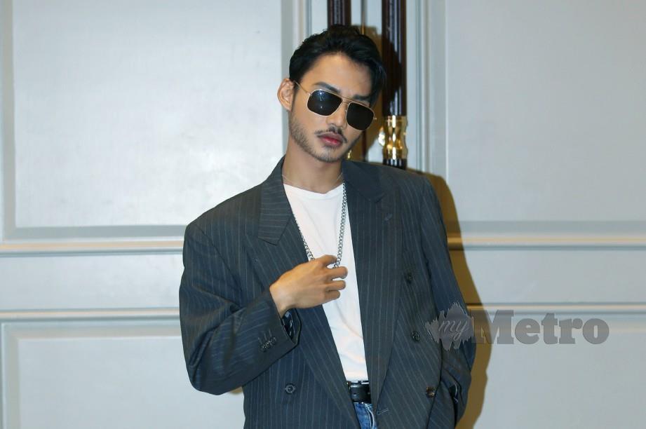 HAEL serahkan pada pihak pengurusan Universal Music untuk memilih siapa penyanyi yang akan menyanyikan lagu Anta Permana. FOTO Rohanis Shukri