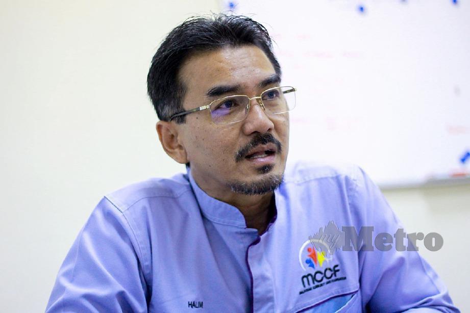 GOMBAK 03 SEPTEMBER 2019. (UNTUK HAFIS HM) Pengerusi Yayasan Keprihatinan Komuniti Malaysia (MCCF), Halim Ishak. NSTP/ASYRAF HAMZAH