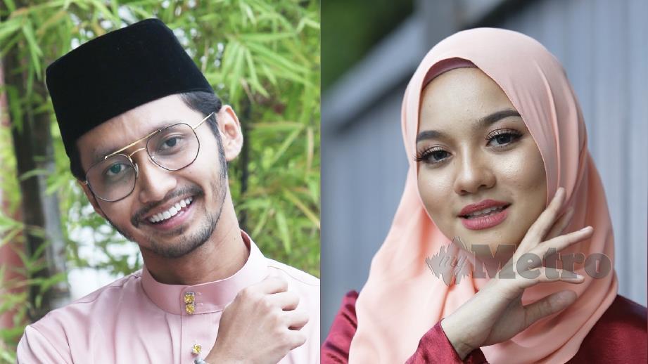 HAWA Rizwana (kanan) hanya berkawan dengan Sufian Suhaimi (kiri). FOTO Arkib NSTP
