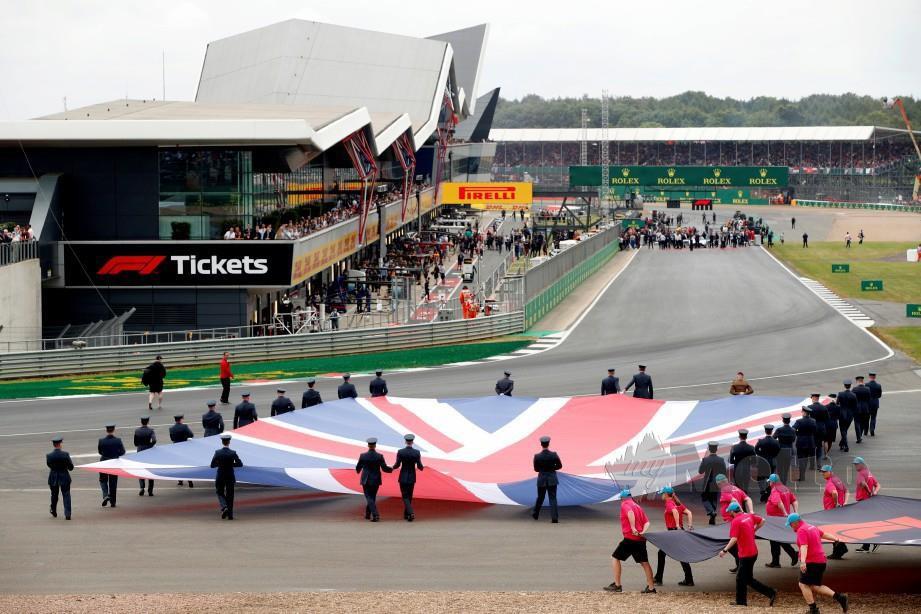 ACARA pembukaan GP British tahun lalu. FOTO Reuters