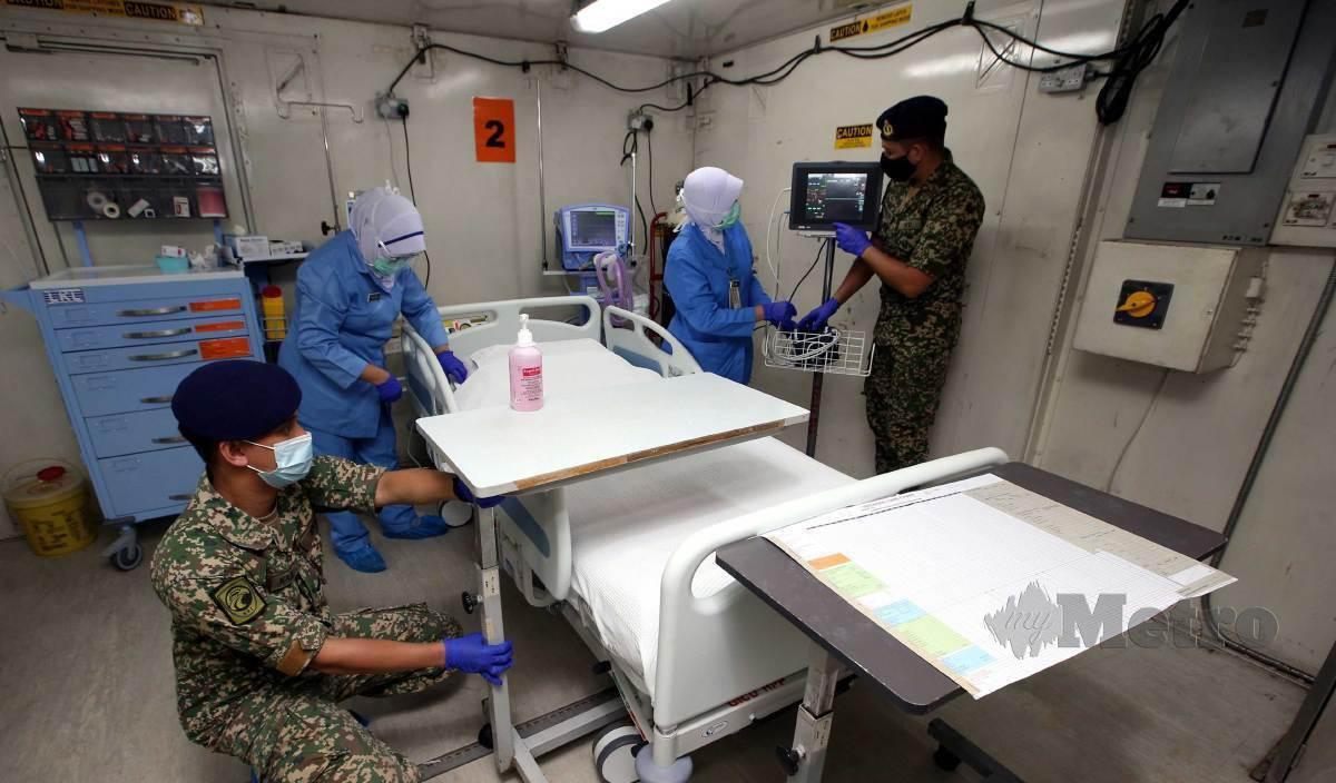 HOSPITAL Medan ATM dilengkapkan dengan empat katil Unit Rawatan Rapi (ICU) dan 60 katil wad. FOTO Arkib NSTP