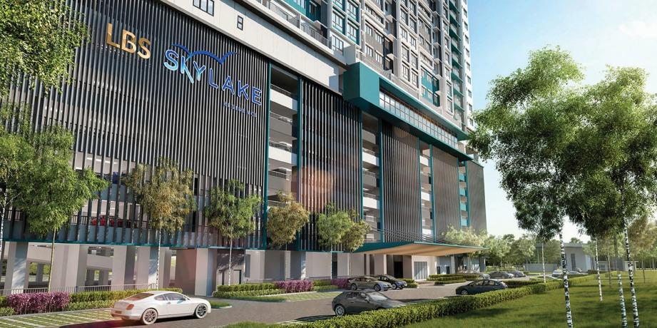 LBS Skylake Residence antara projek dibangunkan LBS.