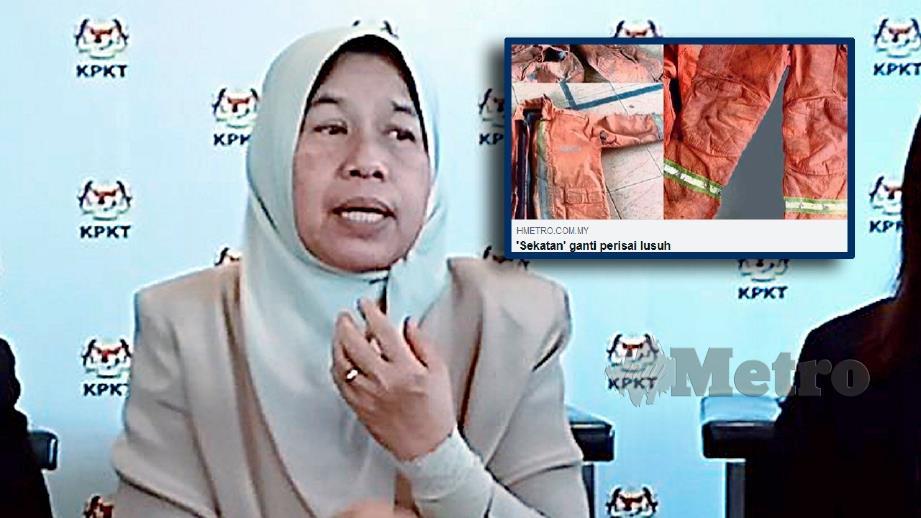 ZURAIDA menjawab isu baju kalis api Jabatan Bomba dan Penyelamat Malaysia