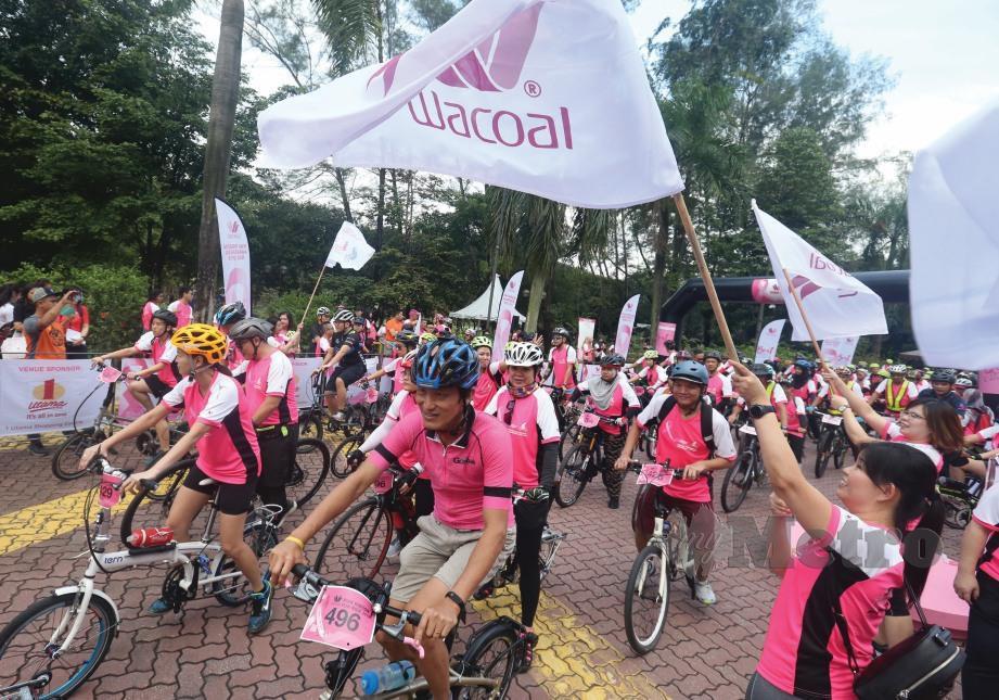 PROGRAM kesedaran kanser payudara.
