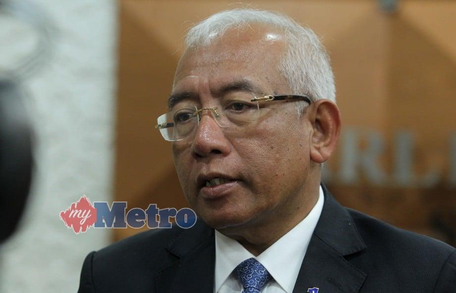 Ahli Majlis Tertinggi UMNO, Datuk Seri Mahdzir Khalid. FOTO Yazit Razali