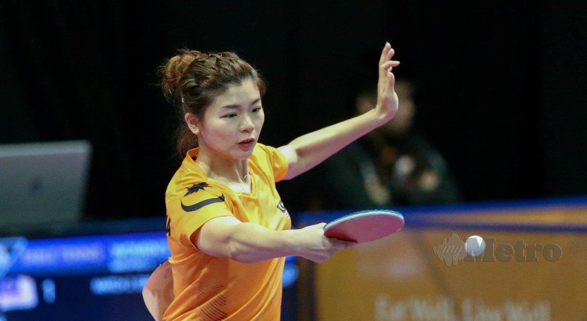 HO Ying berusaha merebut tiket untuk meraih slot kelayakan ke Sukan Olimpik pada tahun hadapan. FOTO NSTP