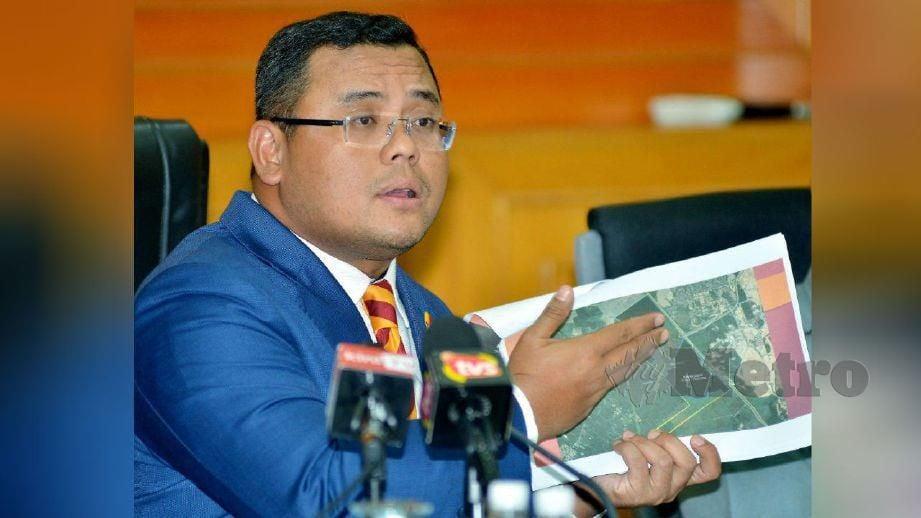 AMIRUDIN pada sidang media mengenai Hutan Simpan Kuala Langat Utara. FOTO Faiz Anuar
