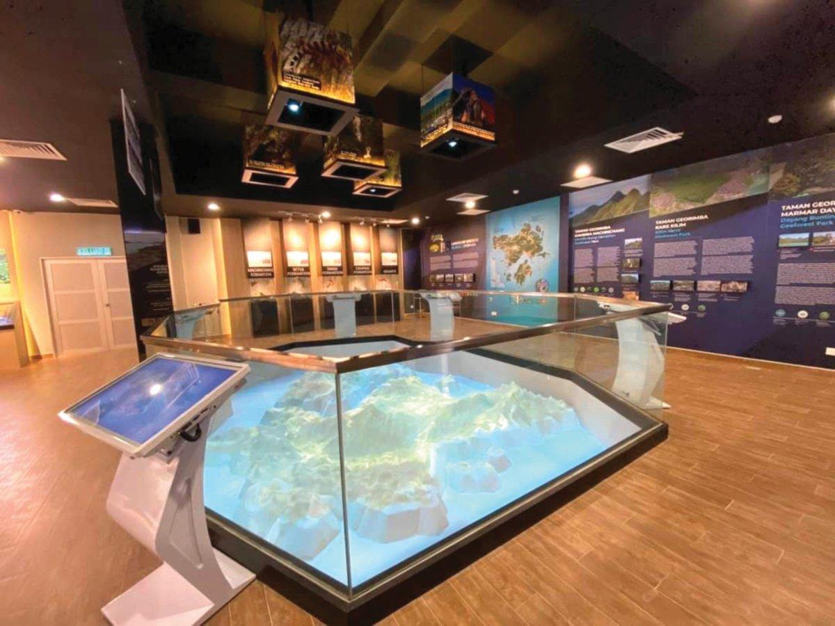 GEOPARK Discovery Center turut dibenarkan dibuka kepada pengunjung dengan SOP yang ditetapkan.