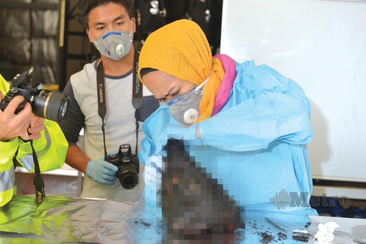TOPIK penyelidikan Dr Rabiah ketika menyambung pengajian PHD adalah identifikasi mayat yang terbakar melalui DNA yang diperoleh dari gigi mangsa kebakaran.