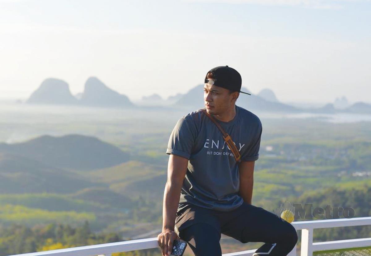 JASLIN berada di Wang Kelian View Point.