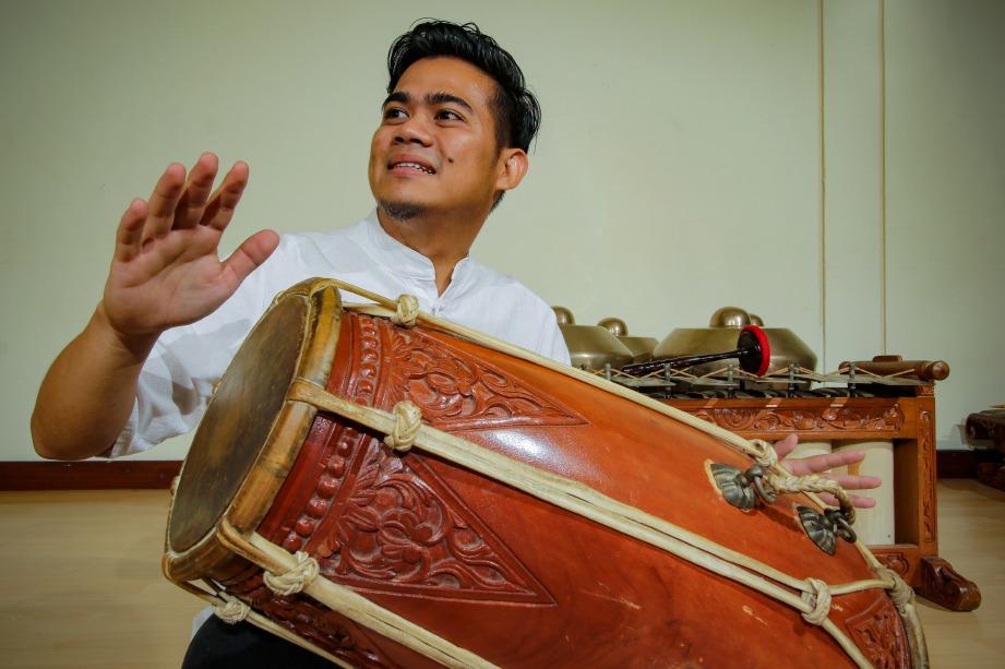 GENDANG antara instrumen penting dalam gamelan. FOTO: Aizuddin Saad & Gangsapura