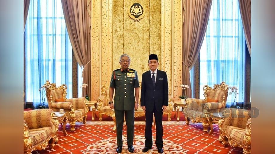 FOTO Ihsan Instagram Istana Negara