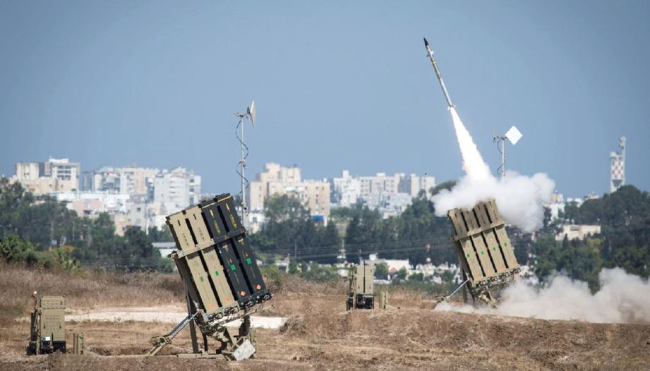 SISTEM pertahanan udara Iron Dome milik tentera Israel. FOTO Agensi