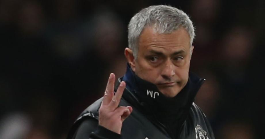 BEKAS pengurus Manchester United, Jose Mourinho. FOTO Agensi