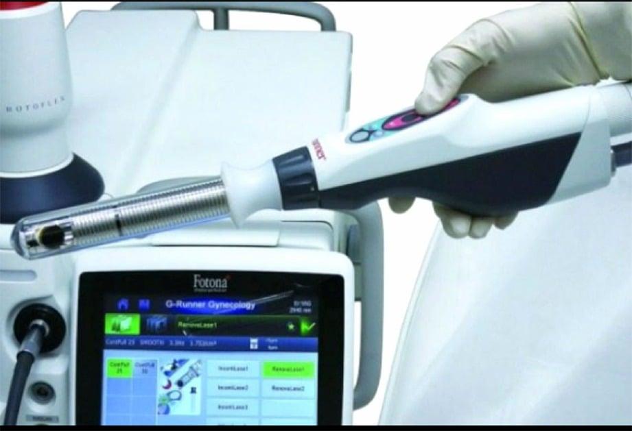 RAWATAN laser untuk masalah lemah kawalan kencing.
