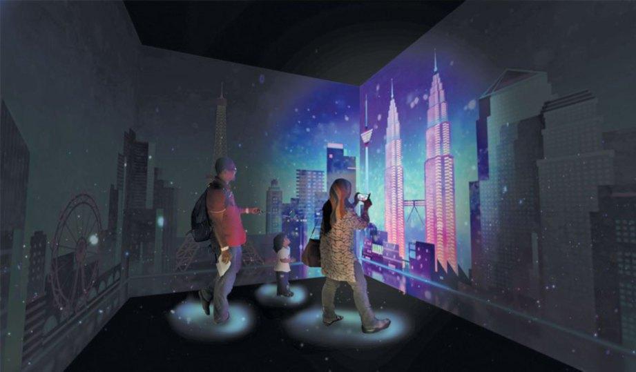 IMAGINARIUM Virtual Safari memberikan pengalaman berbeza buat pengunjung.