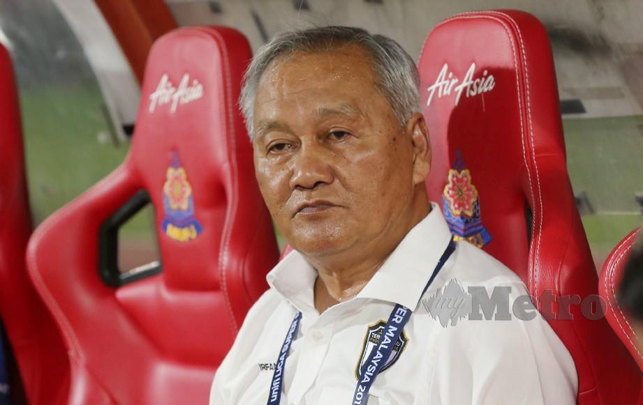Jurulatih Terengganu, Irfan Bakti Abu Salim. FOTO NSTP