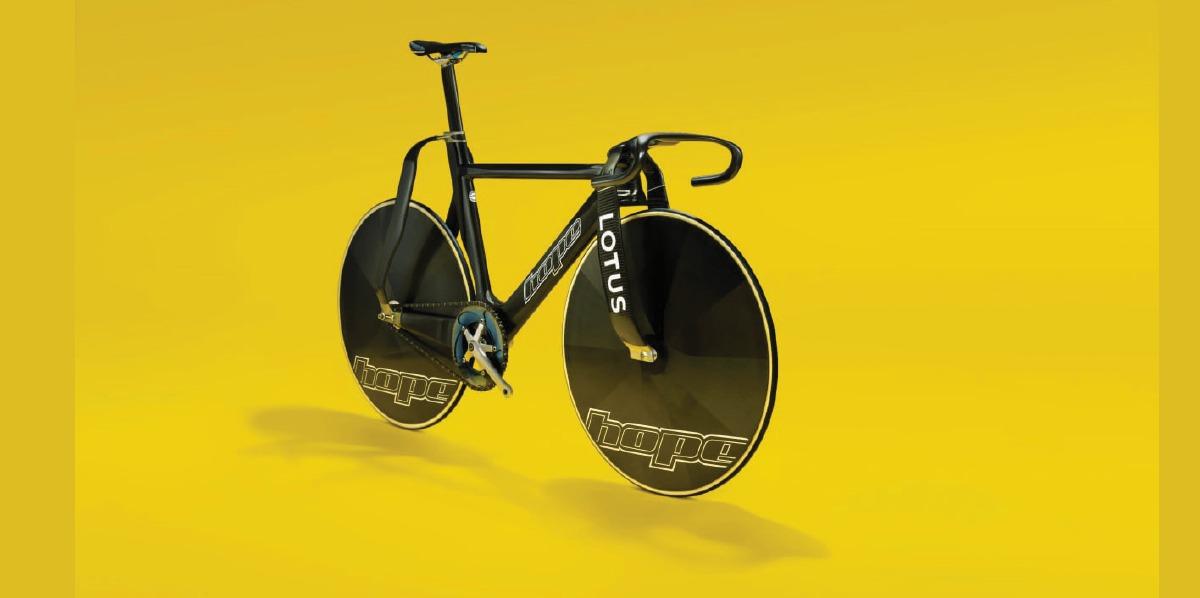 KEJURUTERAAN Lotus untuk basikal trek pasukan GB.