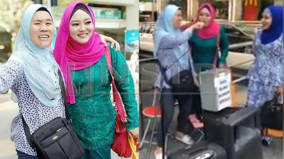 VIDEO tular Mac Ruhayu menyanyikan lagu Ditakdir Kita Bersama dengan seorang penyanyi OKU mendapat pelbagai reaksi warganet. FOTO Facebook Mac Ruhayu