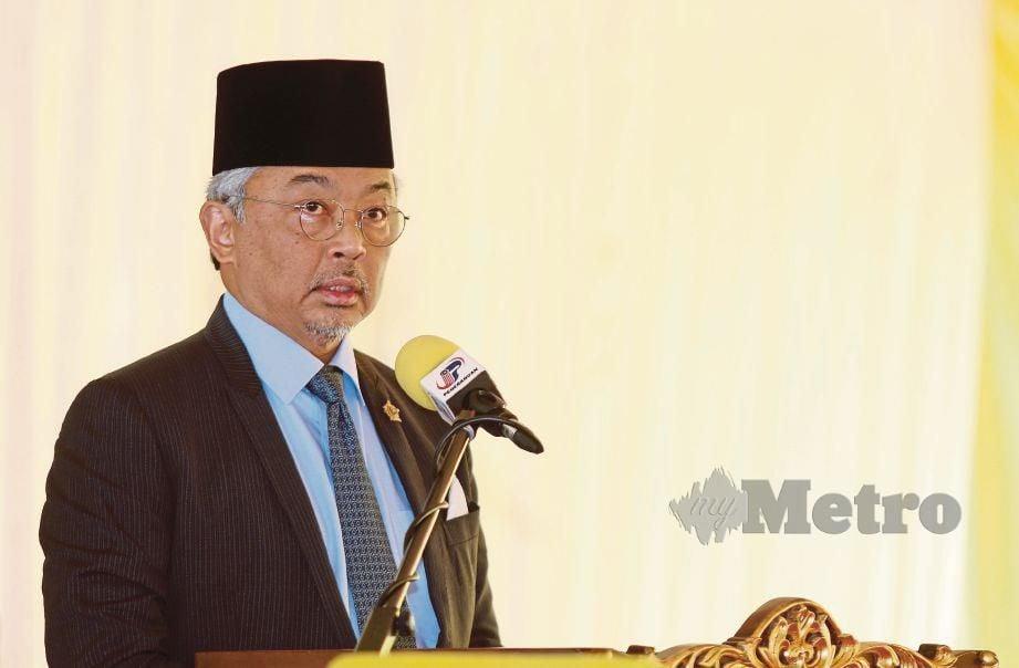 YANG di-Pertuan Agong Al-Sultan Abdullah Ri'ayatuddin Al-Mustafa Billah Shah. FOTO arkib NSTP