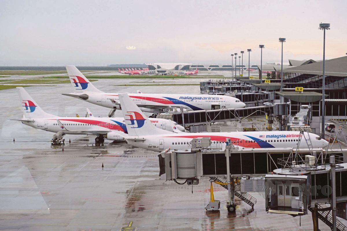 PESAWAT Malaysia Airlines. FOTO Arkib NSTP