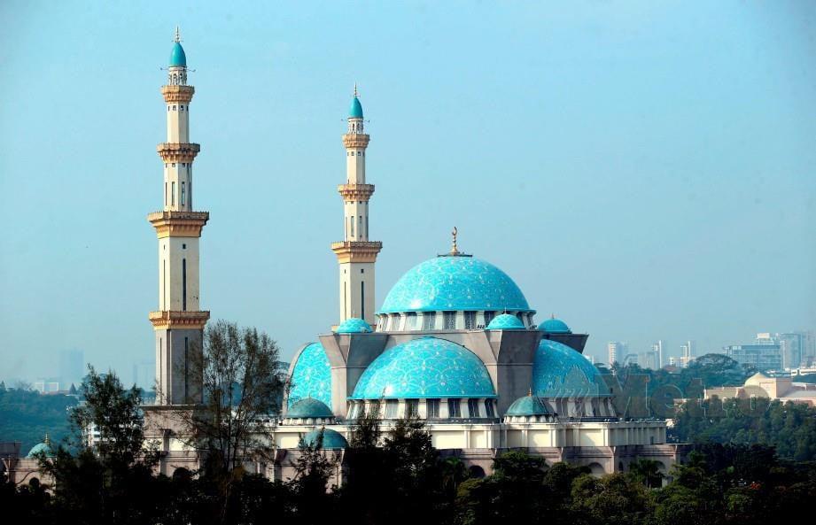 MASJID Wilayah Persekutuan, Kuala Lumpur. FOTO arkib NSTP