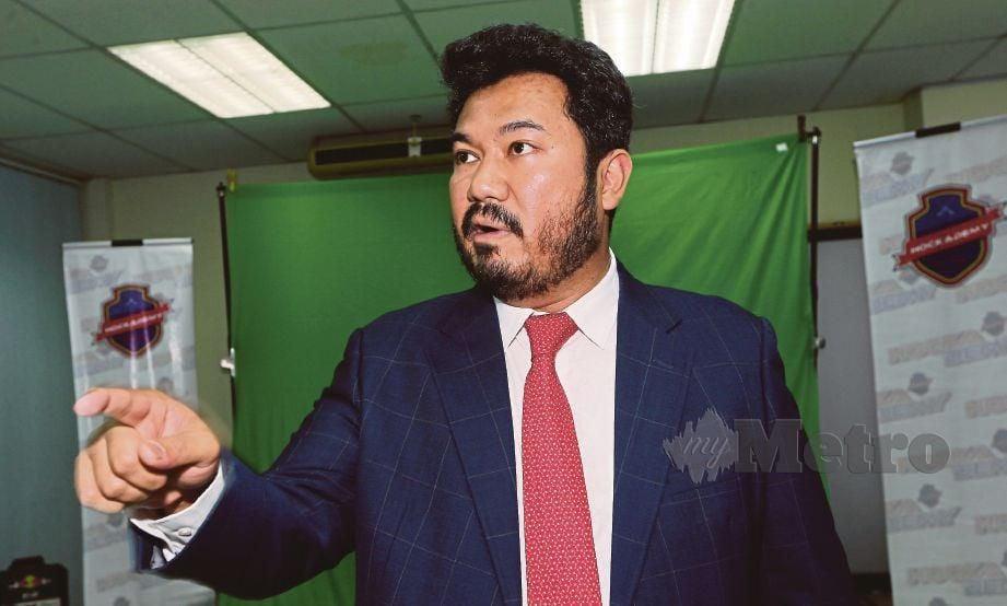 MEGAT D Shahriman anggap tuduhan tidak berasas.