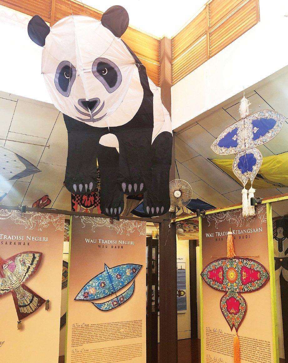 WAU panda gergasi di Muzium Wau.