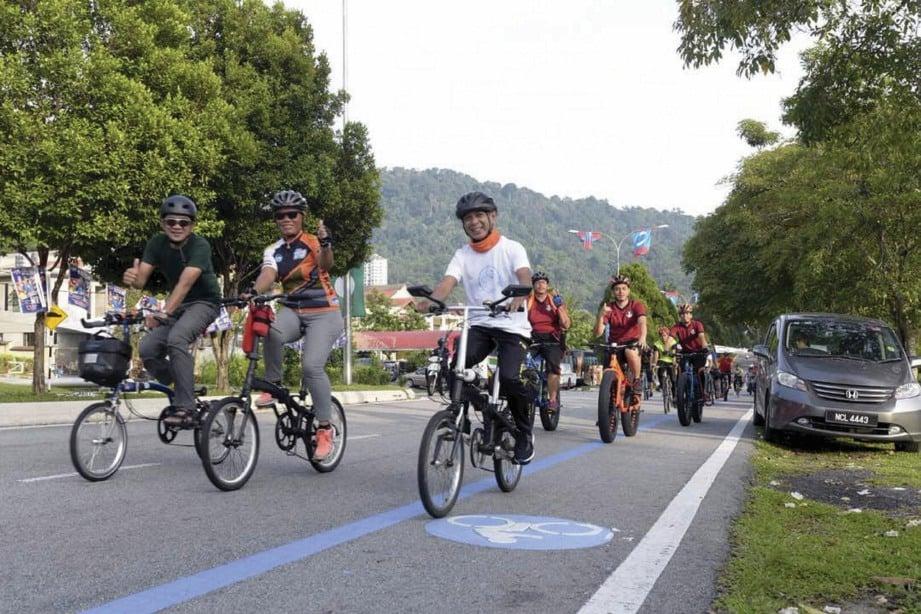 ACARA berbasikal yang banyak dianjurkan di Malaysia memberi peluang kepada semua golongan beriadah secara sihat. FOTO NSTP