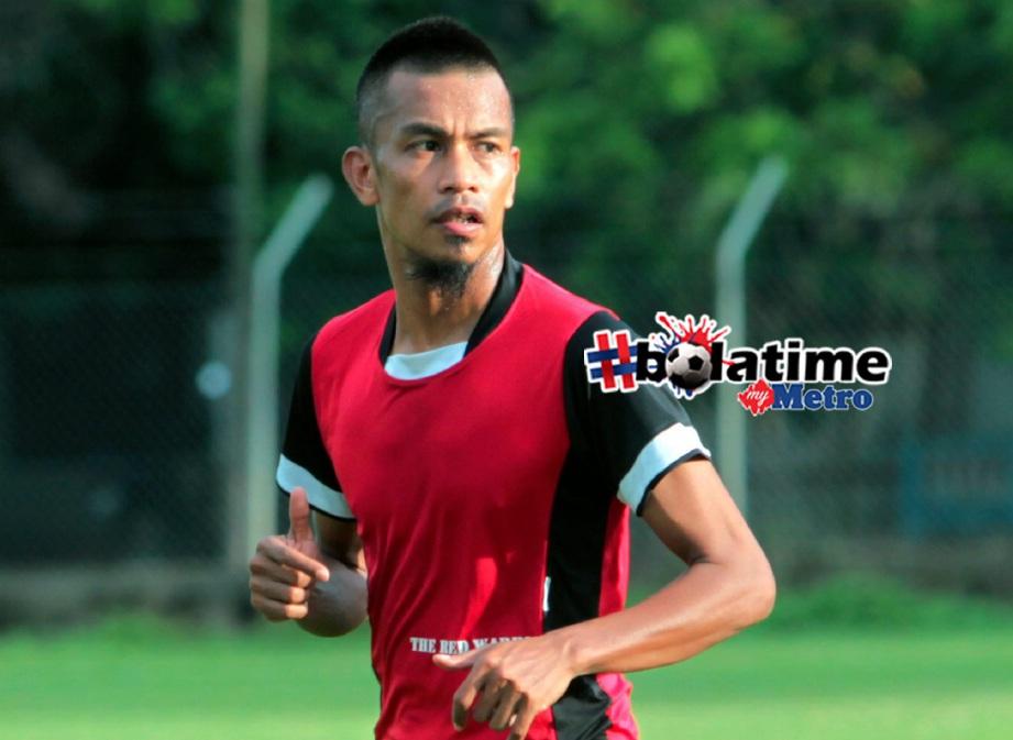 BEKAS kapten Kelantan, Badhri Radzi. FOTO Syamsi Suhaimi