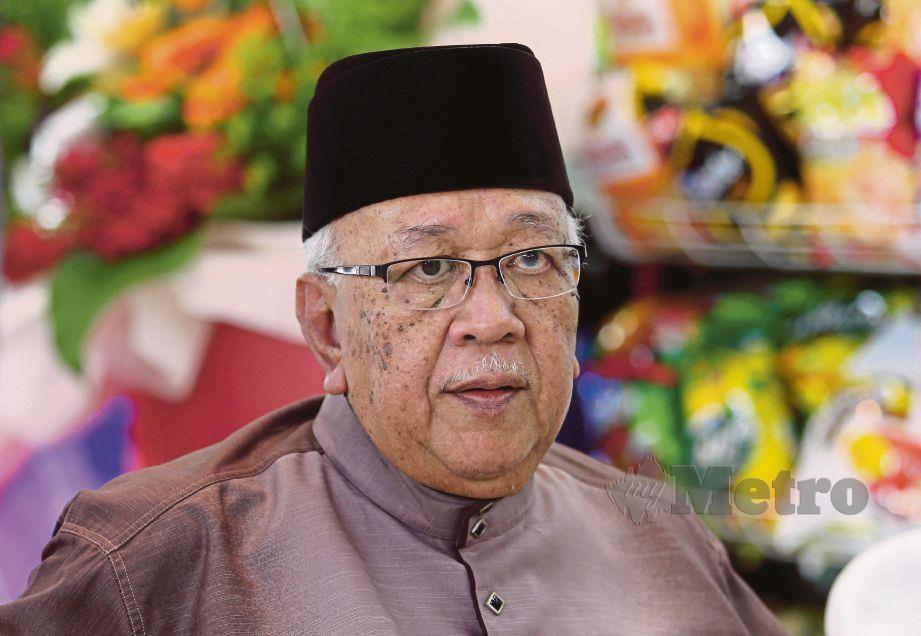 DATUK Mohd Yusof Ahmad. FOTO Iqmal Haqim Rosman