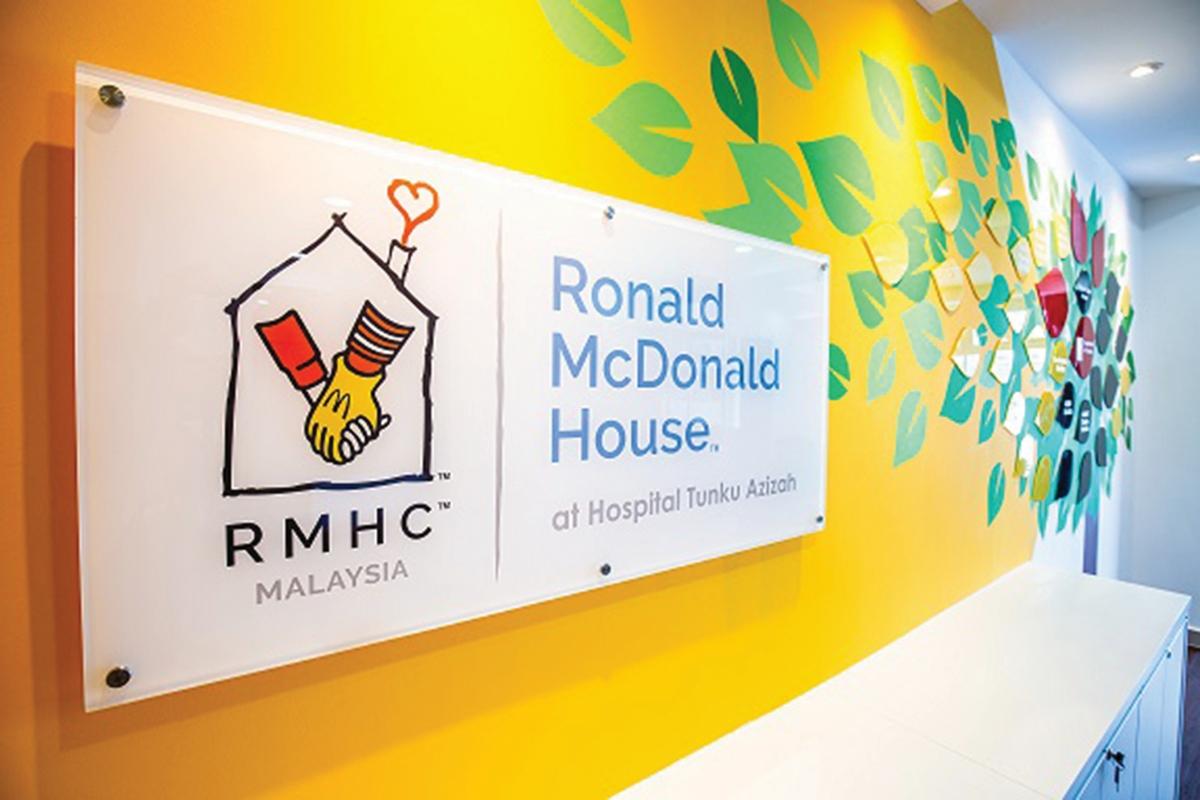 RUMAH Ronald McDonald mula beroperasi di Hospital Tunku Azizah