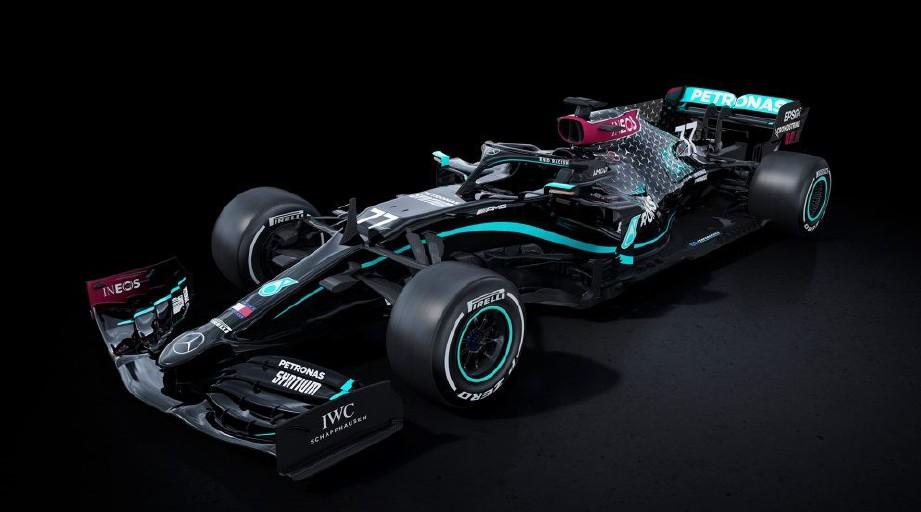 JENTERA Mercedes yang akan digunakan dalam perlumbaan sulung F1 hujung minggu ini. FOTO Agensi