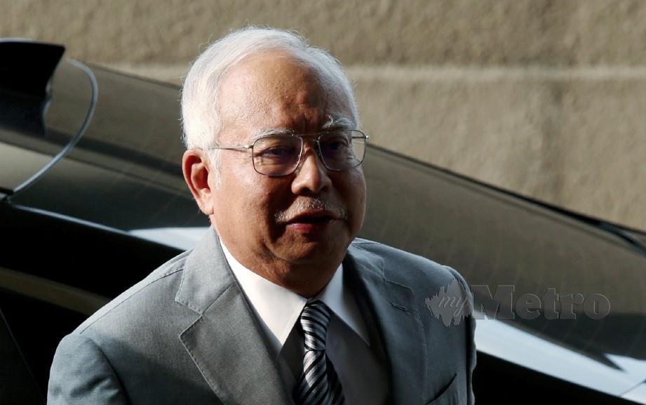 BEKAS Perdana Menteri, Datuk Seri Najib Razak, hadir pada hari ketiga bagi menghadapi perbicaraan atas tiga pertuduhan pecah amanah dan satu pertuduhan salah guna kuasa membabitkan dana SRC International berjumlah RM42 juta di Mahkamah Tinggi Kuala Lumpur. FOTO Shahril Badri Saali