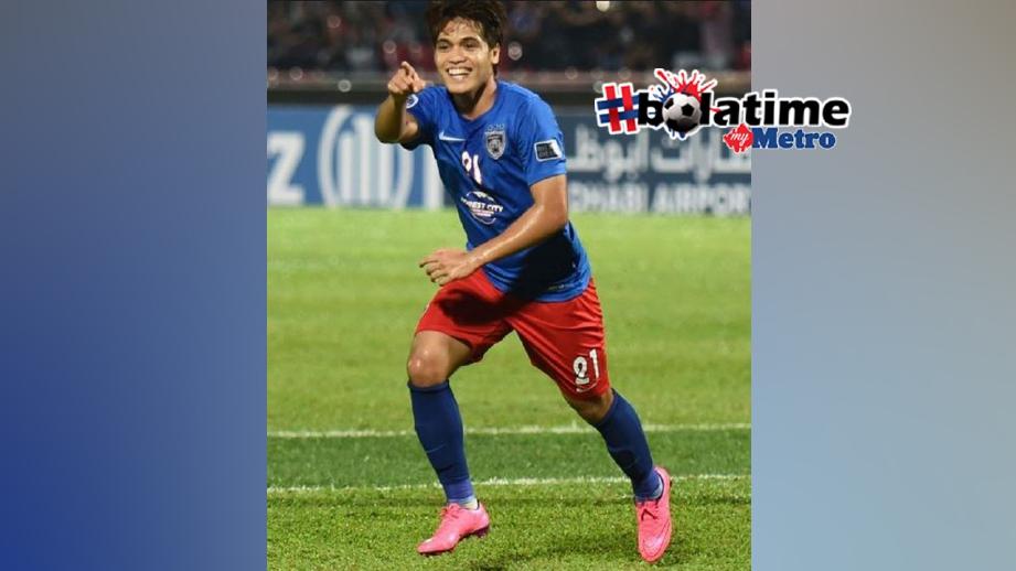 Pemain tengah JDT, Nazmi Faiz digantung satu perlawanan dan denda RM3000
