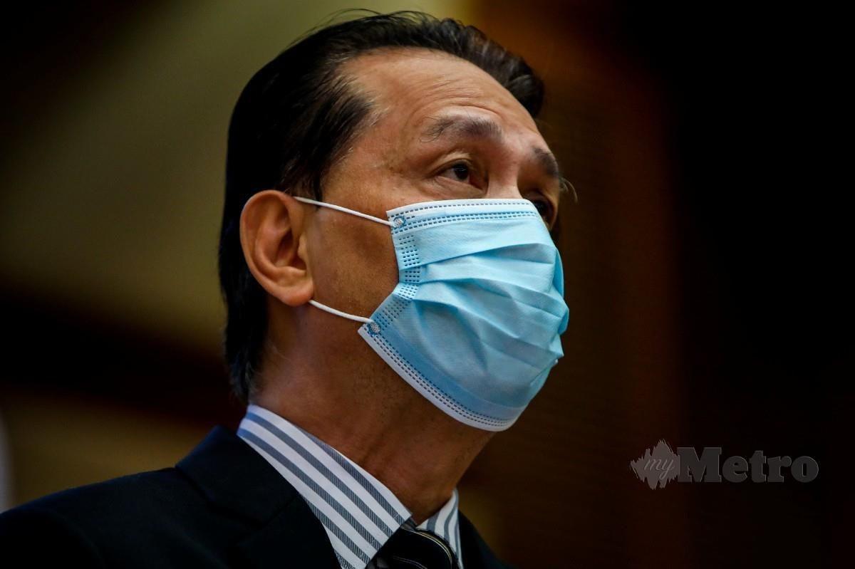 Ketua Pengarah Kesihatan Tan Sri Dr Noor Hisham Abdullah. Foto NSTP