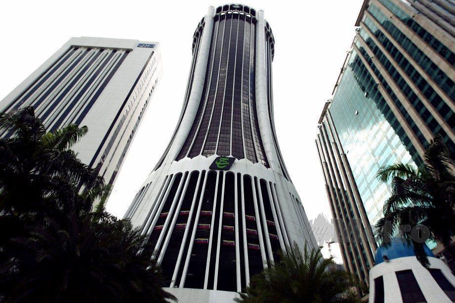 BANGUNAN Tabung Haji di Kuala Lumpur. FOTO arkib NSTP