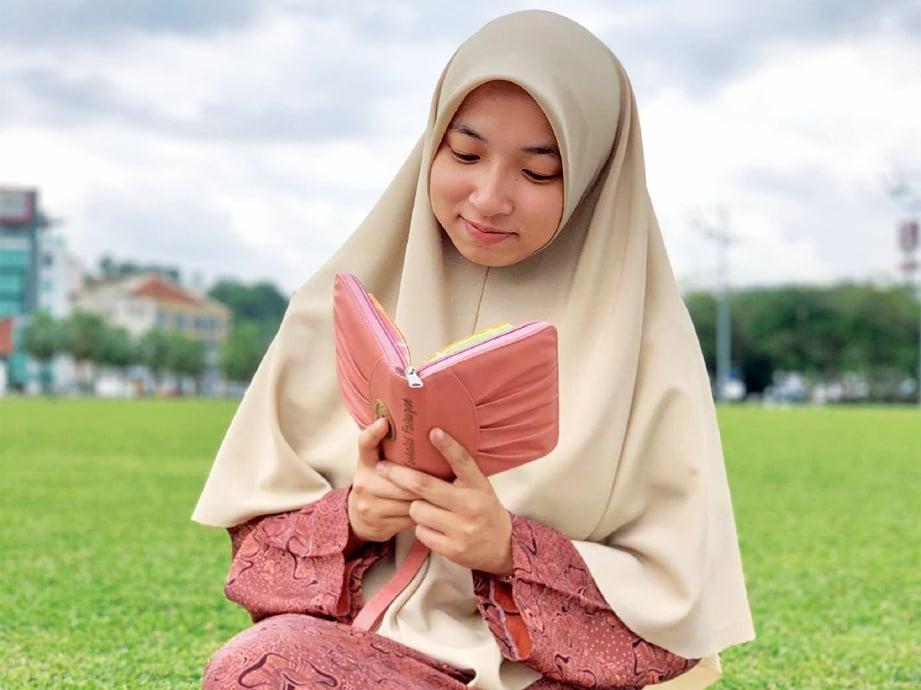 GUNAKAN media sosial untuk tarik minat terhadap al-Quran sepanjang PKP. FOTO Ihsan Nor Farhatul Fairuzah Panut
