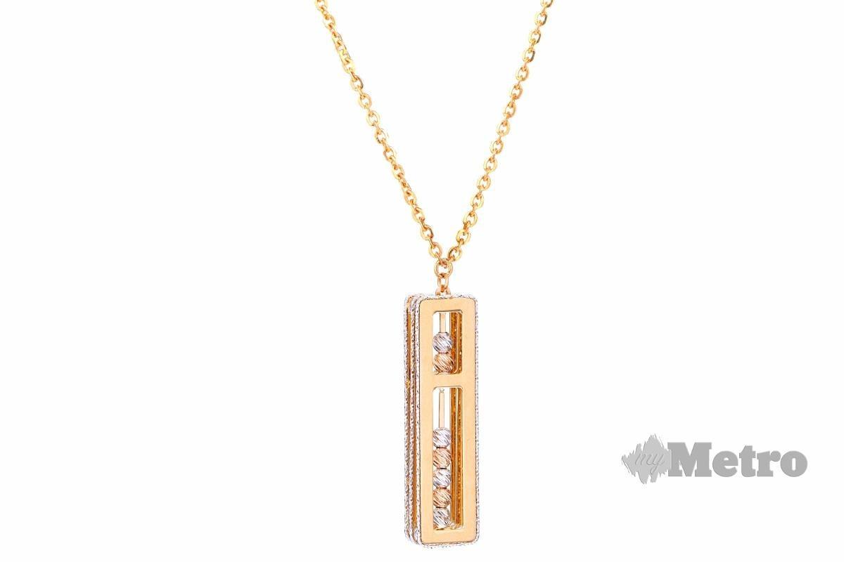 RANTAI leher Oro Italia 916 Yellow Gold.