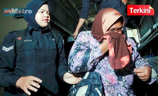 Pengasuh yang didakwa atas tuduhan mendera kanak-kanak lelaki. FOTO Danial Saad