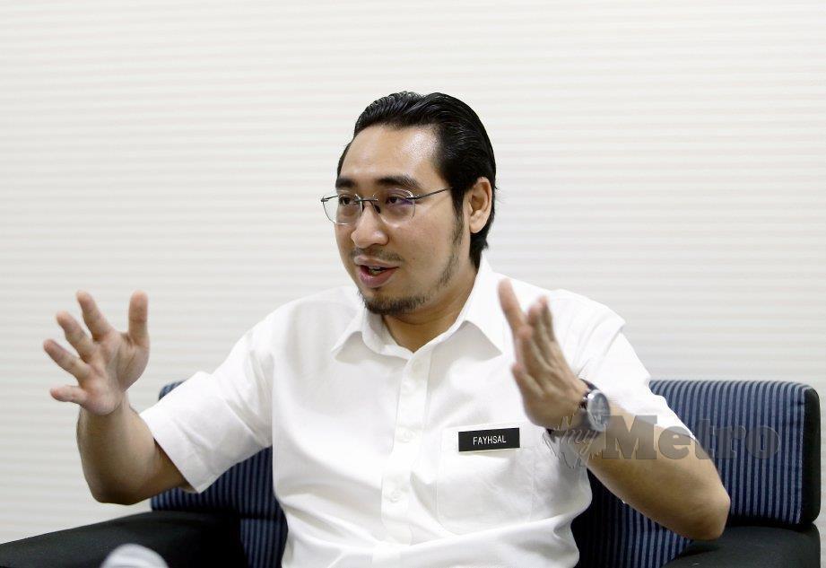 Wan Ahmad Fayhsal Wan Ahmad Kamal. Foto NSTP