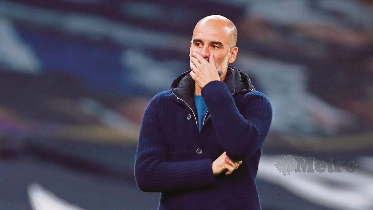 GUARDIOLA gusar Liga Super Eropah mampu membunuh saingan domestik. FOTO AFP