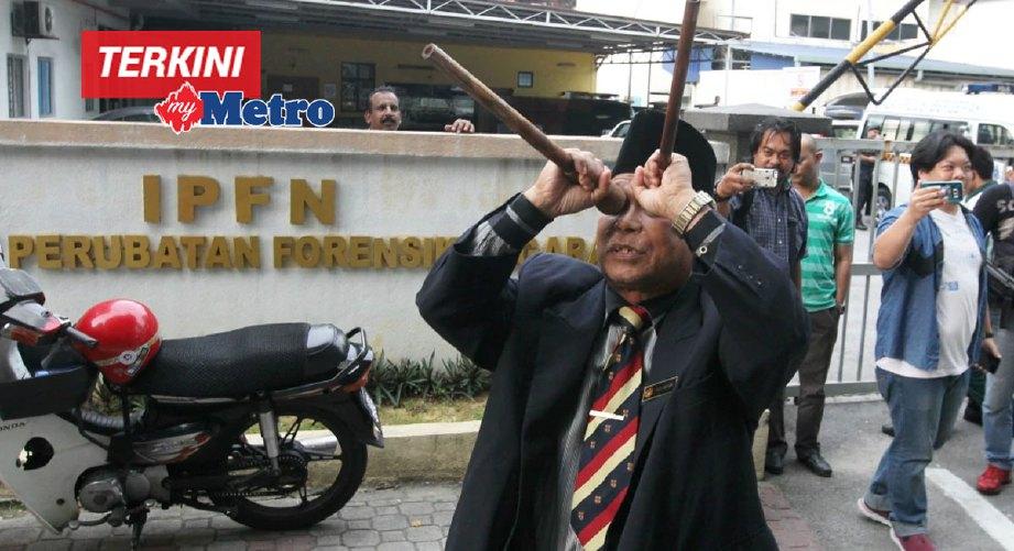 Raja Bomoh ditangkap polis