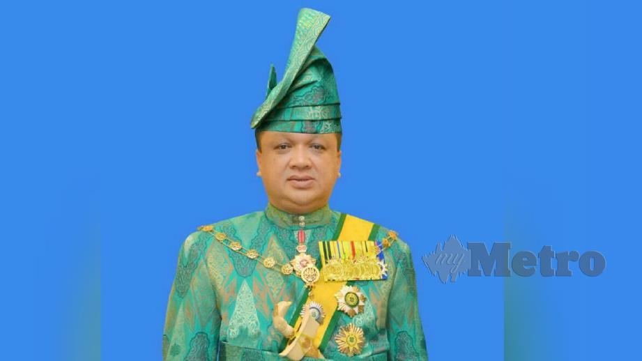 RAJA Muda Perlis Tuanku Syed Faizuddin Putra Jamalullail. FOTO Ihsan Istana Arau