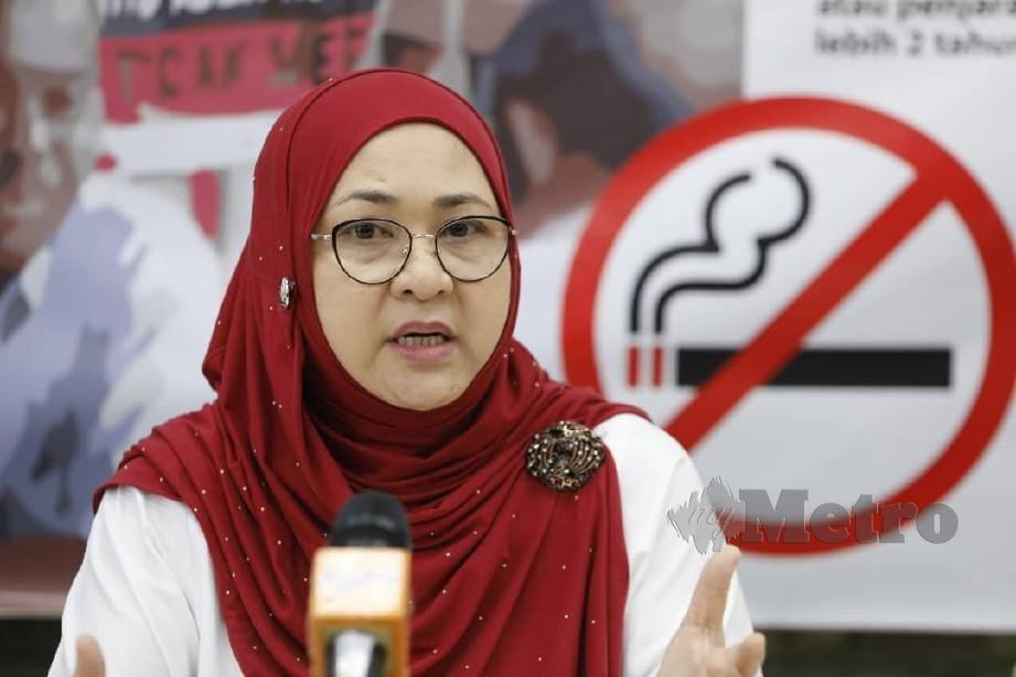PENGARAH Jabatan Kesihatan Negeri Sarawak, Dr. Jamilah Hashim